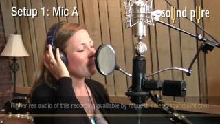 Sony C800g vs. Peluso VTB Microphone Shootout -- Female Vocals