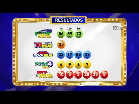 Sorteo Lotería Real 14-5-2021