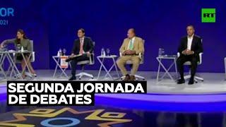 Segunda jornada de debates de cara a las presidenciales del 7 de febrero en Ecuador