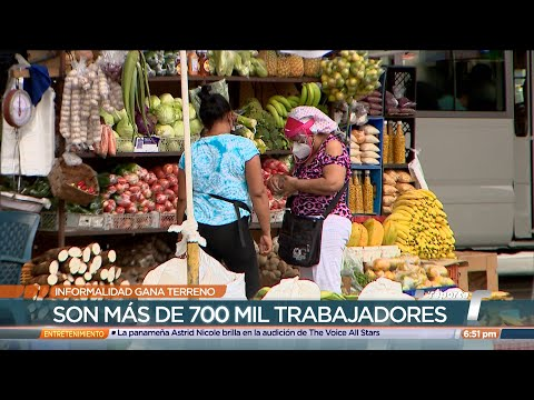Trabajo informal gana terreno en Panamá, advierten especialistas