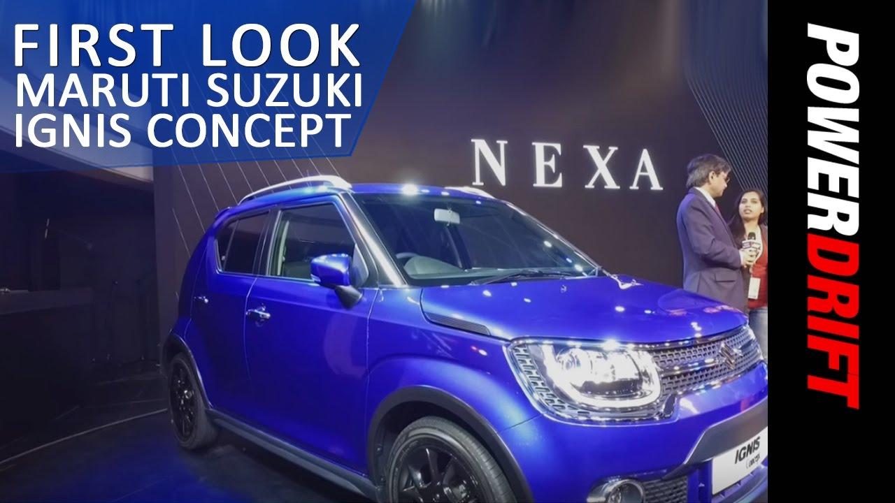 Maruti Suzuki Ignis Concept : First Look : PowerDrift