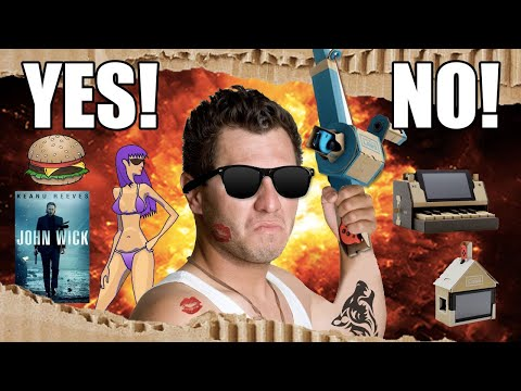 connectYoutube - We Won't Buy Nintendo Labo Because We're Real Manly Adult Men - Up At Noon Live!