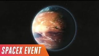 Elon Musk's Mars colonization event in 5 minutes