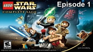 Lego Star Wars The Complete Saga Walkthrough - Episode 1 The Phantom Menace