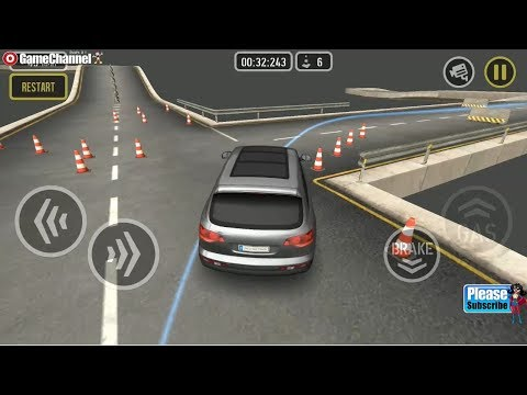 Car Drive AT Super Parkour / Sports Car Racing Games / Android Gameplay Video