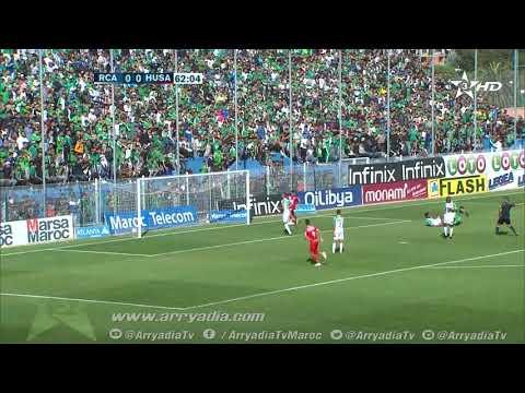 الرجاء البيضاوي 0-1 حسنية أكادير هدف كريم البركاوي