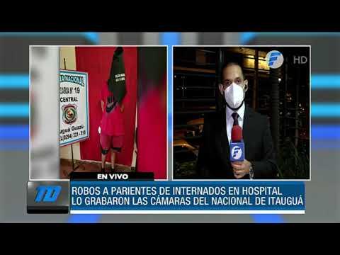 Roban a familiares de internados en el Hospital Nacional de Itaugua
