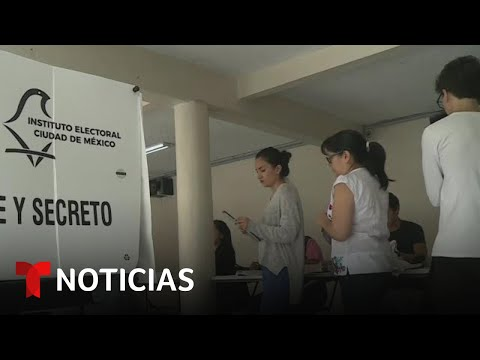 Fuerte lucha en México por el voto de los más jóvenes | Noticias Telemundo