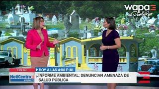 HOY: ¿Toldos que arropan tumbas en cementerio de Guánica