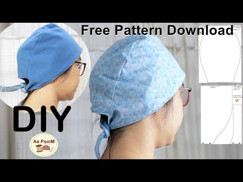 DIY-Chemo-cap,-Surgical-cap,-S