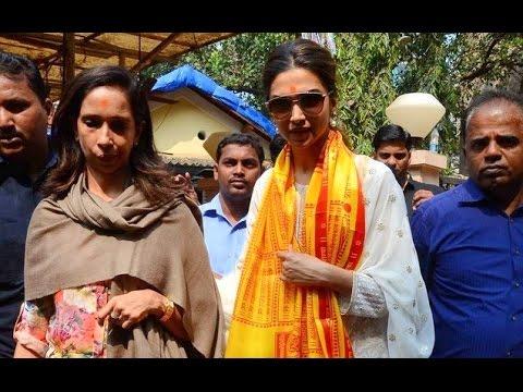 Deepika Seeks Lord Ganesha's Best Wishes For Tamasha!