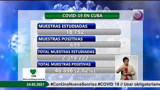 Cuba notifica 699 casos con Covid-19 y cuatro fallecidos