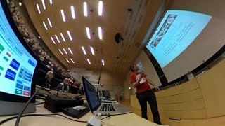 Bridges 2016 talk - Squares that look round: Transforming Spherical Images