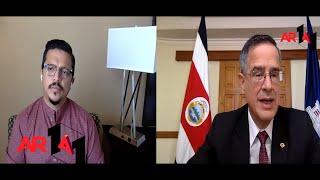 1 a 1 Entrevista con Luis Antonio Sobrado Presidente TSE