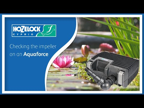 Hozelock Aquaforce 2500 Vattenfallspump 24-1581