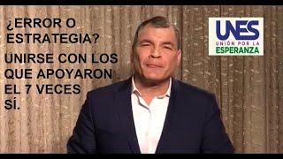 PRIMER ERROR de Rafael Correa o Estrategia