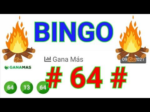 SORTEOS de HOY....!! (( 64 )) BINGO HOY...!! / loteria GANA MÁS de HOY / RESULTADOS de las LOTERÍAS