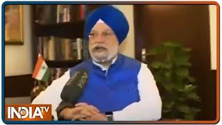 25 मई से लॉकडाउन में ऐसे 'उड़ेगा' इंडिया, जानें नागरिक उड्डयन मंत्री हरदीप पुरी से पूरी जानकारी - INDIATV