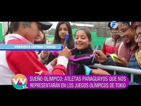 Atletas paraguayos en los Juegos Olímpicos de Tokio 2021.