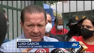 Daniel Salcedo rindió versión en hospital Guayaquil