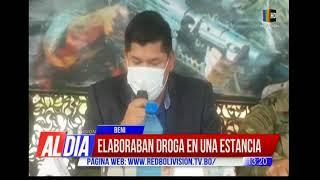 299 kilos de clorhidrato de cocaína  incautados en Beni