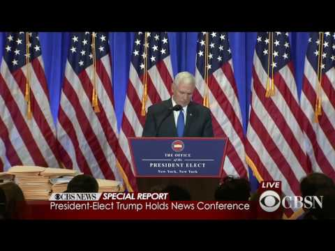 connectYoutube - Watch Live: Donald Trump holds his first press conference as President-elect