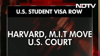 Harvard, MIT Sue Trump Administration Over Student Visa Row - NDTV