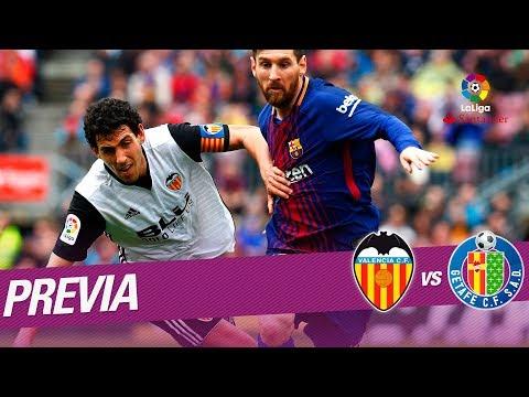 Previa Valencia CF vs Getafe CF