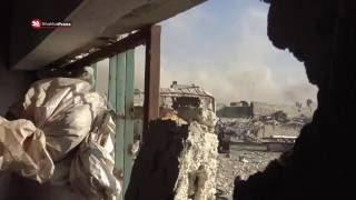 كاميرا شهبا برس ترافق الثوار في حلب