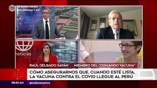 Primera Edición: ¿Cómo asegurarnos de tener un vacuna contra el Covid-19 en Perú (HOY)