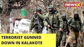 One Terrorist gunned down in Kalakote encounter | NewsX - NEWSXLIVE