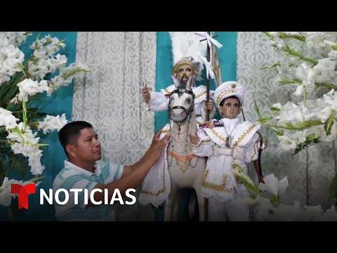 Este es el santo más venerado por los salvadoreños que viven en Estados Unidos | Noticias Telemundo