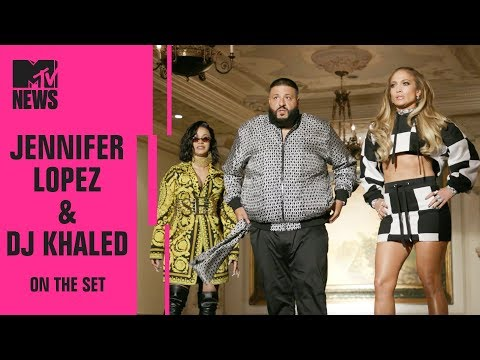 BTS of Jennifer Lopez, DJ Khaled & Cardi B's New Song 'Dinero' | On the Set | MTV News