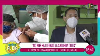 Santa Cruz sin vacunas y los domos cerraron