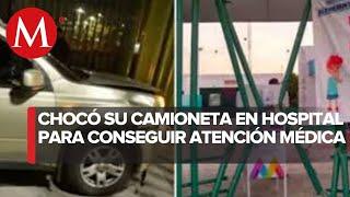 Mujer derriba reja del Hospital Las Américas para recibir atención