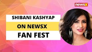 Singer Shibani Kashyap on NewsX Fan Fest | NewsX - NEWSXLIVE
