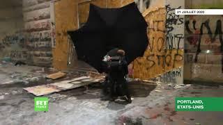 Black Lives Matter : gaz lacrymogène et violents affrontements à Portland