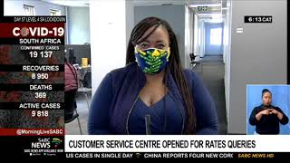 Customer service centre opened for rates queries