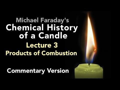 connectYoutube - Commentary Lecture Three: The Chemical History of a Candle - Products of Combustion