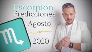 Escorpión Predicciones Agosto de 2020