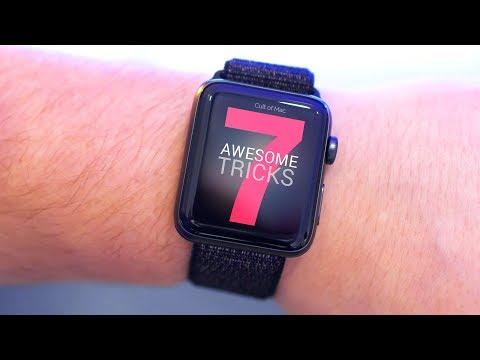 7 Awesome Apple Watch tricks [2018]