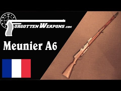 connectYoutube - Meunier A6: France's First Semiauto Battle Rifle