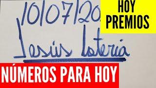 NUMEROS PARA HOY 10/07/2020 DE JULIO PARA TODAS LAS LOTERÍAS