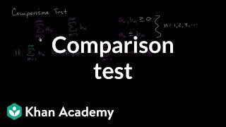 Comparison test