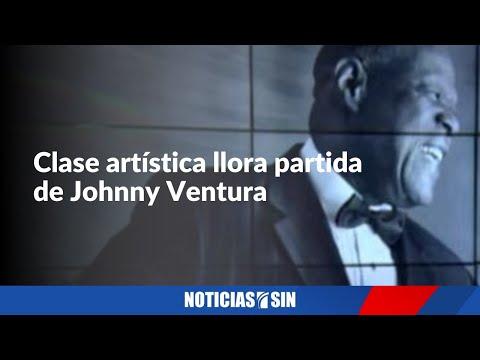 Artistas se unen al dolor por muerte de Johnny