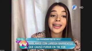 Entrevista a Larissa Barrientos de Tik Tok en Vive la Vida XL