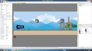 Physics Puzzle Game Development w/ Construct 2 - Tutorial 10 - Adding Particles for Explosions