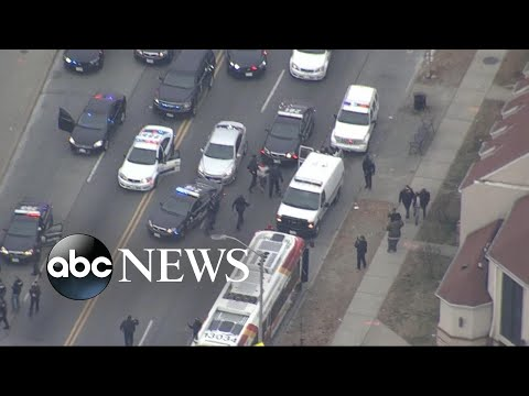 Baltimore highway shooter caught in high-speed chase