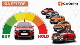 Kia Seltos India vs MG Hector, Hyundai Creta & Tata Harrier | Buy or Hold | CarDekho