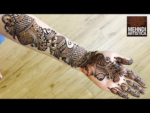 Mehndi Ceremony Mp : Mehndi designs on youtube top beautiful arabic henna for